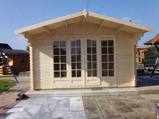 Gartenhäuser mit Pultdach aus Holz